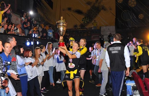 Суперкубок Российской Федерации погандболу одержал победу ГК «Ростов-Дон»